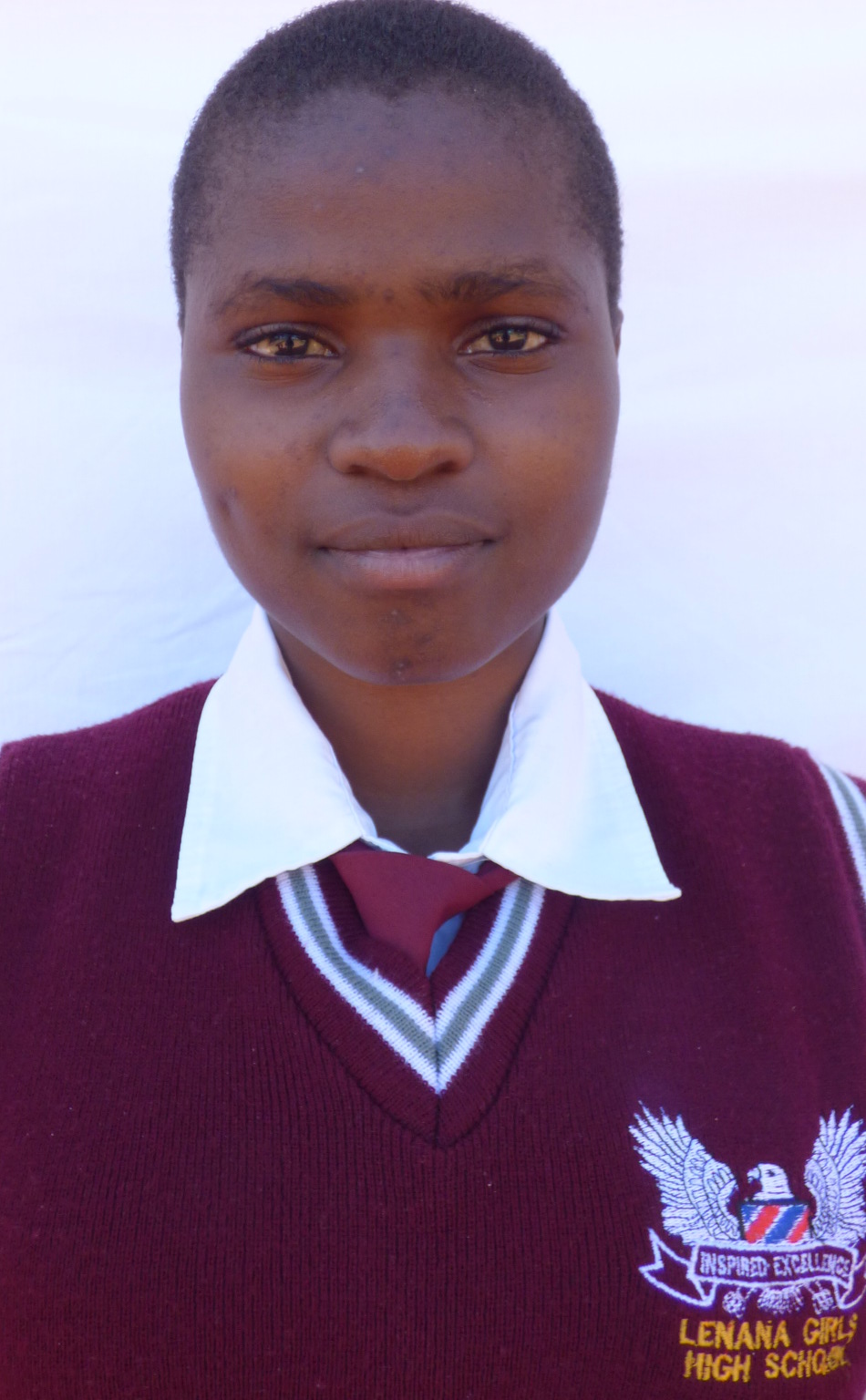 Sarah from Lenana Girls' High School in Kitale, Kenya